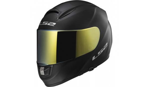 LS2 VISOR FF320 NEW, IRIDIUM GOLD