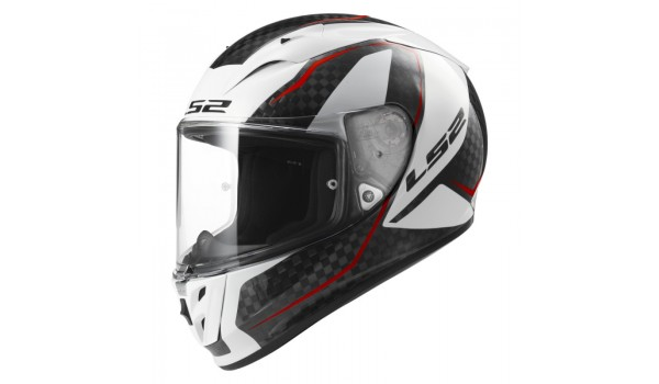LS2 FF323 ARROW C TRONIC, CARBON WHITE, XS