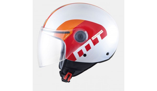 MT STREET METRO pearle white/orange/red, XS- Оригинал!!!