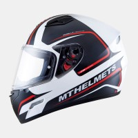 MT MUGELLO JEROME gloss white/anthracite/fluo red, XS
