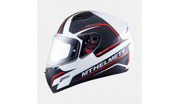 MT MUGELLO JEROME gloss white/anthracite/fluo red, XS- Оригинал!!!