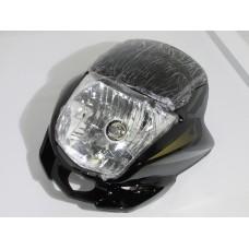 Обтекатель Zongshen-Lifan (№3 сфарой) черный (Мотоциклы)