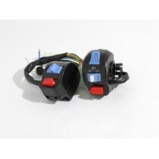 Переключатели руля к-т 4T GY6 50 (диск/бар, креп, рыбка) (Китай скутер)