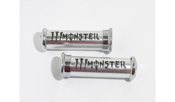 Ручки руля MonsterEnergy(белые)