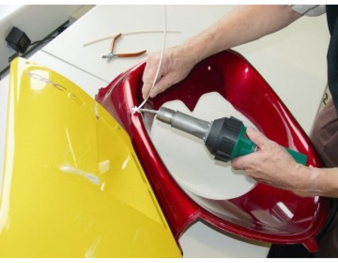 Покраска пластиковых бамперов в домашних условиях