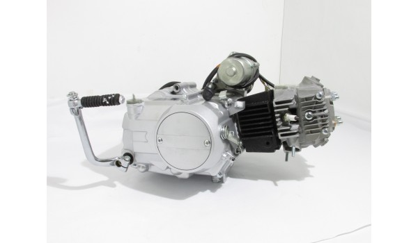 Двигатель Delta 110cc полуавтомат (Дельта/Альфа)