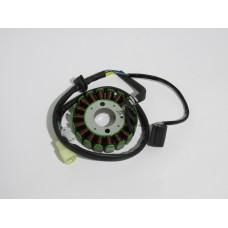 Статор генератора 4T CH250, TORNADO 250 (18 катушек) (Китай скутер)