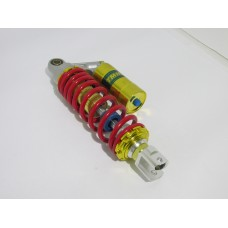 Амортизатор газомаслянный тюнинг 230мм\золотисто-красный\ (Китай скутер)