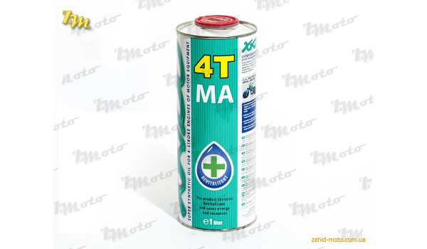 Масло моторне синтетичне XADO 1L 4T 10W40 MA Atomic Oil