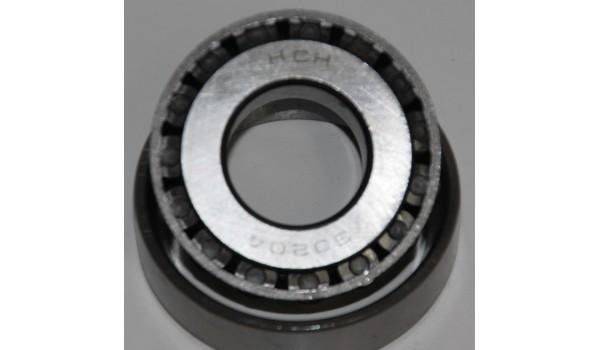 Подшипник колеса роликовый 30204 (МТ, УРАЛ)