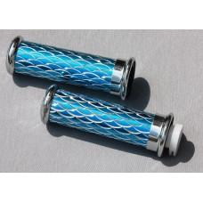 Ручки руля синi